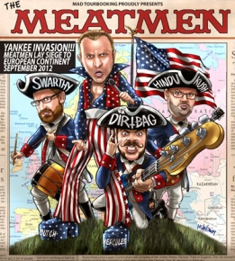 Meatmen-Tourplakat