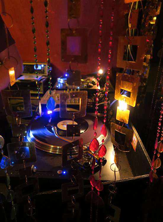 DJ-Kabine des DKK