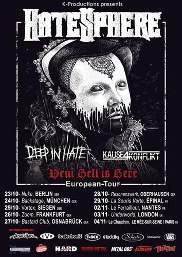Hatesphere Tour 2016
