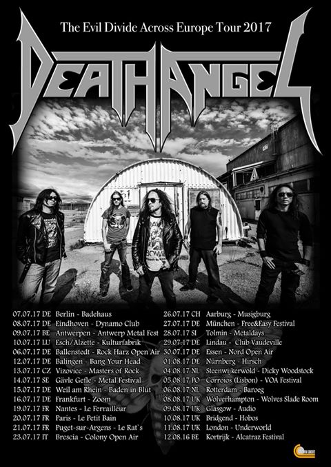 Death Angel Tour 2017