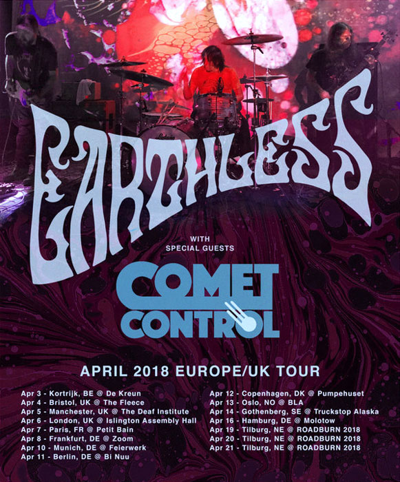 Earthless Tour 2018