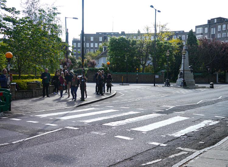 Abbey Road Zebrastreifen
