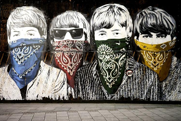 The Beatles Street-Art