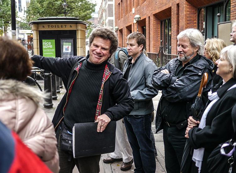 Beatles-Walk mit Richard Porter