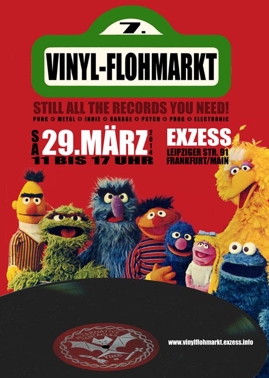 Vinyl-Flohmarkt #7