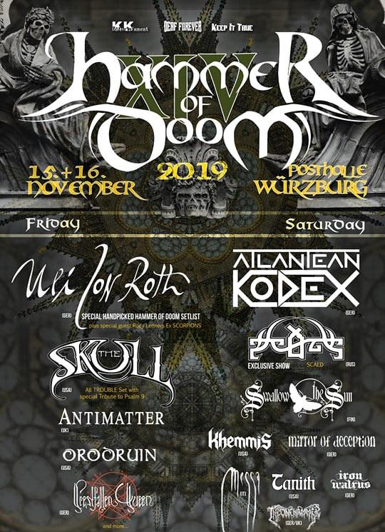 Hammer Of Doom XIV Flyer